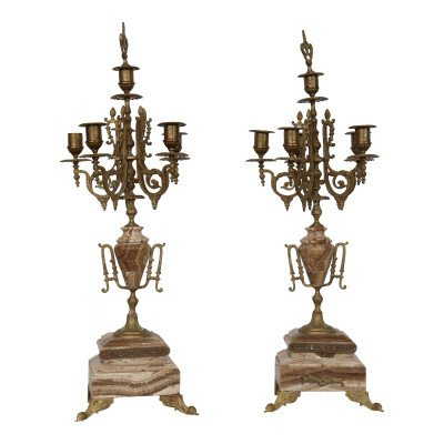 Taupe 5-Taper Candelabra picture 1