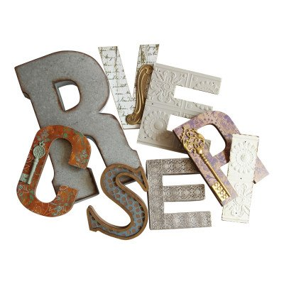 Wood and Metal Wall Letter picture 1