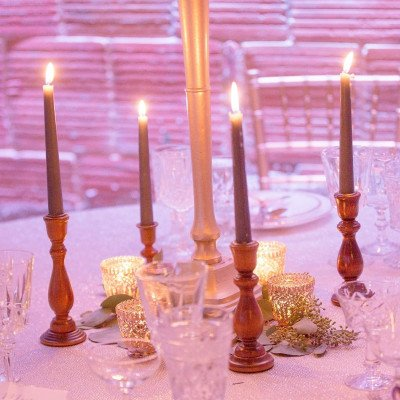 Wood Candlestick - Assorted picture 2