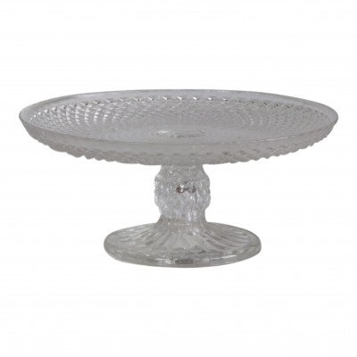 Diamond Back Clear Dessert Stand picture 1