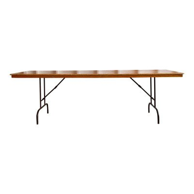 BC Wood 8' Folding Table picture 1