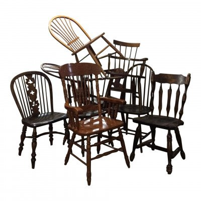 Wood Dining Chair - Assorted picture 1