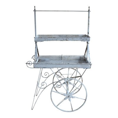 Tiffany Tiered Metal Cart picture 1