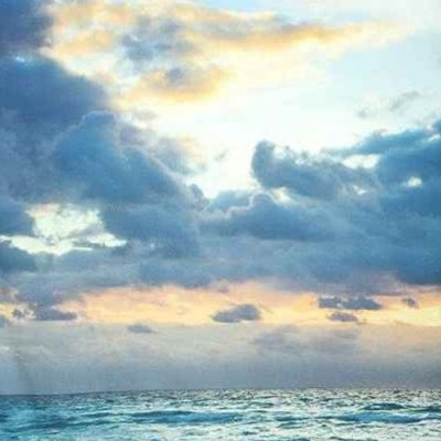 Ocean Sky Photobooth Backdrop picture 1