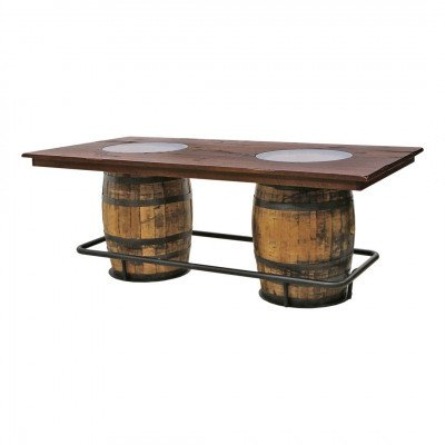 Double Barrel and Barn Door Table picture 1