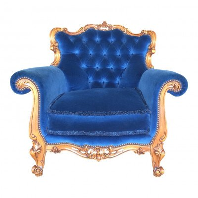 Pierre Blue Chair picture 1
