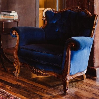 Pierre Blue Chair picture 2