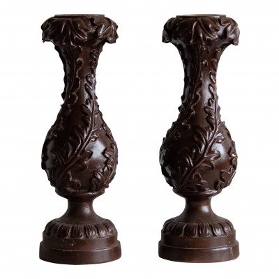 Ornate Pillar Candle Holder picture 2