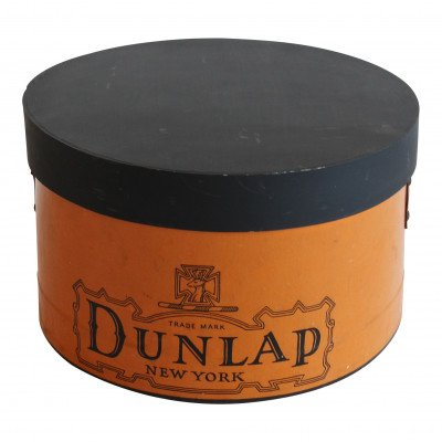 Chalkboard Dunlap Hat Box picture 1
