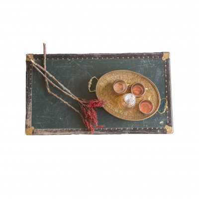 Ozzy Brass Handled Tray picture 2