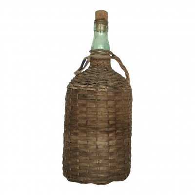 Set of 3 Wicker Jugs and Bottles picture 1
