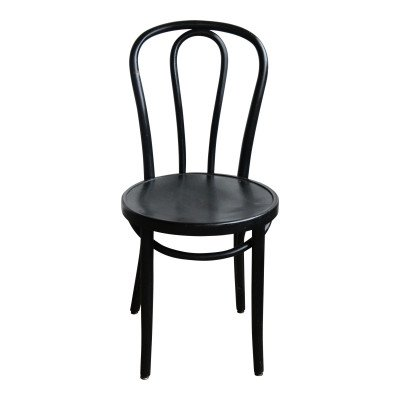 Black Bentwood Dining Chair picture 1