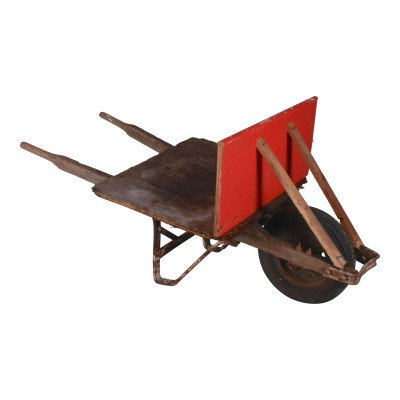 Primitive Wheelbarrow Decoration picture 1