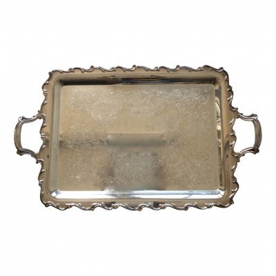 Silver Handled Tray picture 1