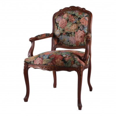 Evelyn Floral Armchair picture 1