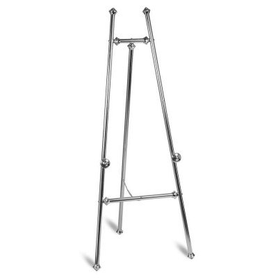 Silver Adjustable Floor Easel picture 1
