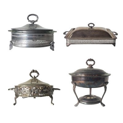 Silver Covered Server - Assorted picture 1