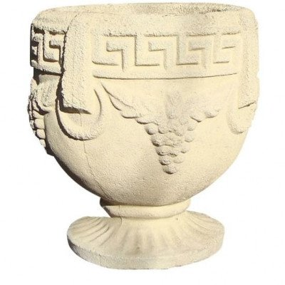 Pair of Grecian Pedestal Urns picture 1