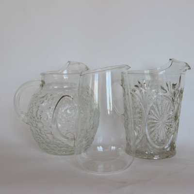 Clear Glass Pitcher picture 1