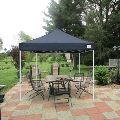 black - pop up canopy tent picture 2