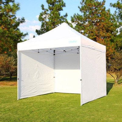 white - pop-up canopy tent picture 1