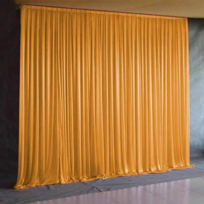 12'L Lycra Drape Panel - Orange picture 1