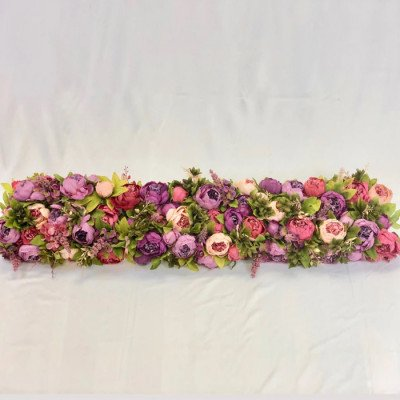 Shades of Pink and Purple Flower Crown picture 1