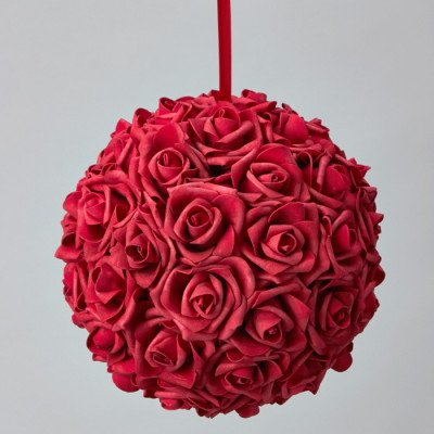 """Pomander Ball 10"""" - Red picture 1"""