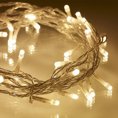 Fairy Light String - Warm White - 66' picture 1