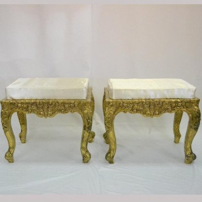 Royal Side Stools Pair picture 1