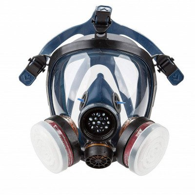 full-face respirator mask gas mask picture 1