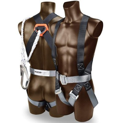 Full body adjustable safety harness picture 1