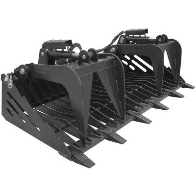 Grapple Bucket for Skidsteer picture 1