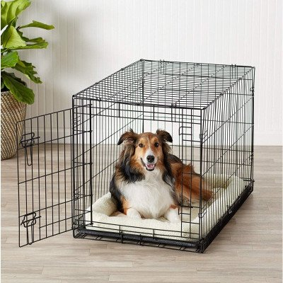Folding Metal Dog Crate picture 1