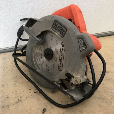 13 amp circular saw with laser - black & decker-1