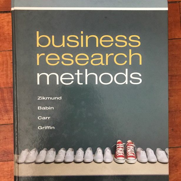 business research methods textbook