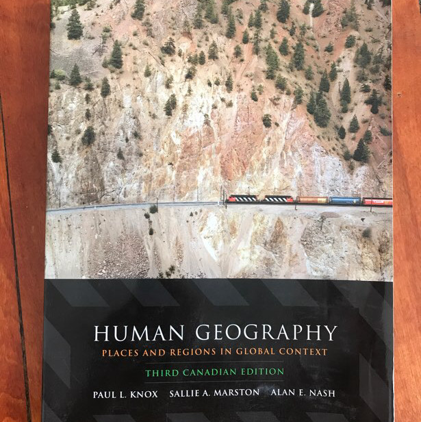 human geography: places and regions in global context textbook