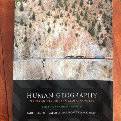 Human geography: places and regions in global context textbook picture 1