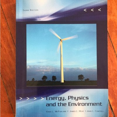 Energy, physics and the environment textbook picture 1