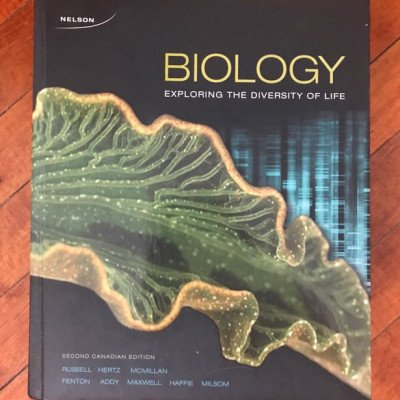 Biology: exploring the diversity of life textbook picture 1