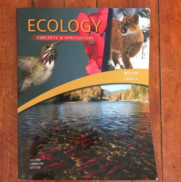 ecology: concepts and applications textbook