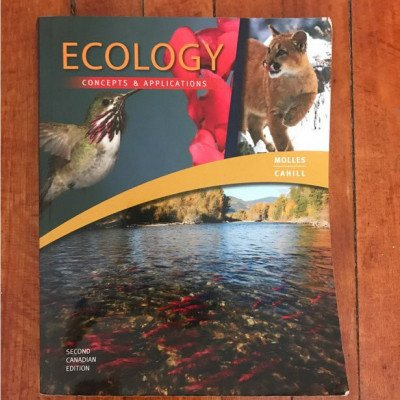 Ecology: concepts and applications textbook picture 1