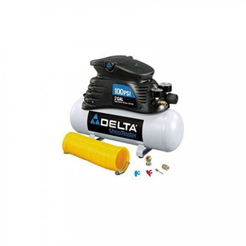 Delta 2 gal air compressor 100psi