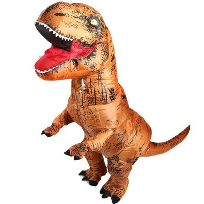 t-rex dinosaur inflatable costume picture 2