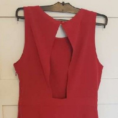 red cocktail party dress-2