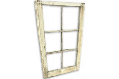 Rustic White Window Pane