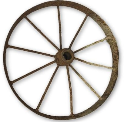 Rustic 2' Wagon Wheel