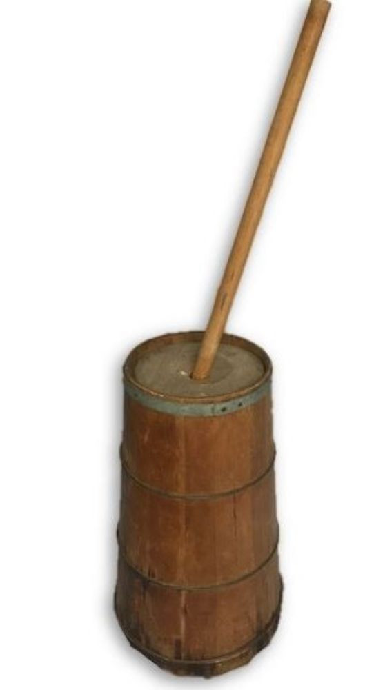 Rustic Butter Churner