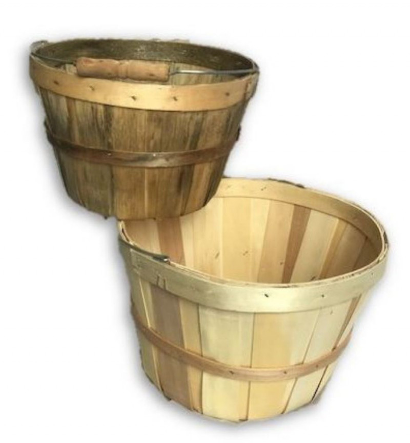 Rustic Wood Baskets