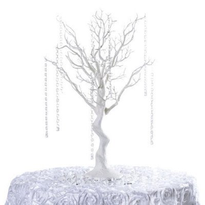 Manzanita Tree Centerpiece White picture 1